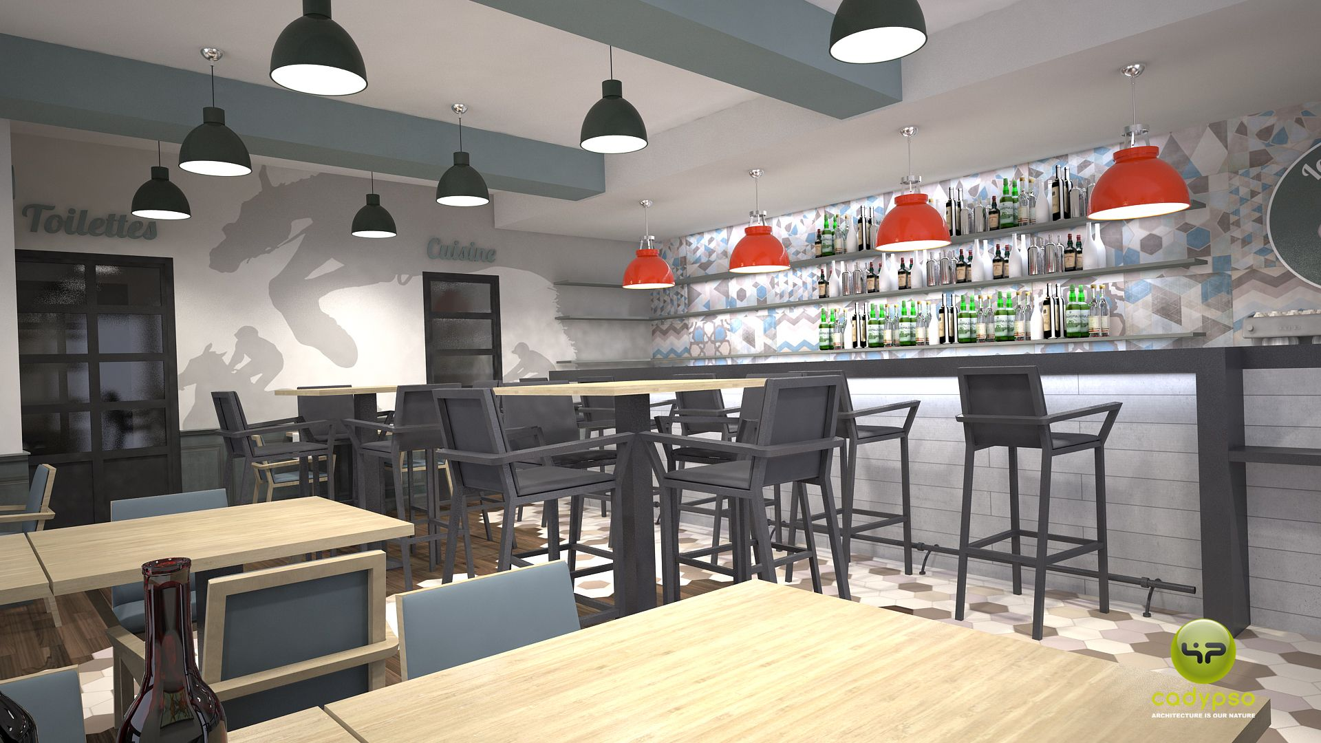 Amenagement Bar Pmu Par Www Cadypso Com Architecture D Interieur Agencement Magasins Erp Maison Et Appartement Architecture Interieure Agencement Magasin
