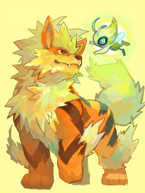 ウインディ \u0026 セレビィ (Pokemon)