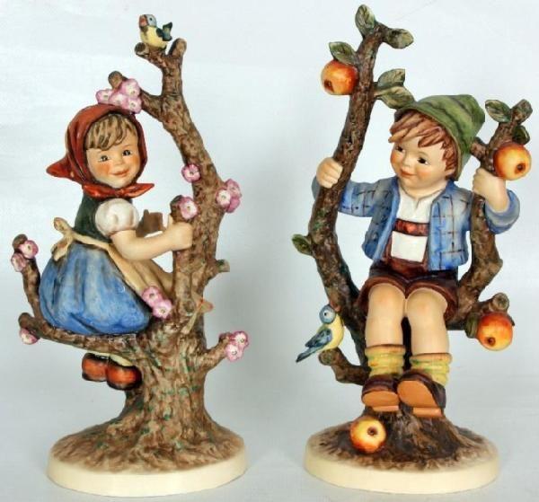 380: Hummel Figurine, Apple Tree Girl Hummel Figurine, : Lot 380