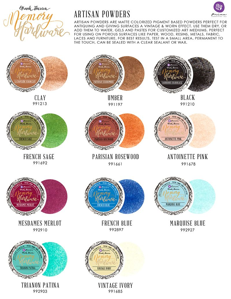 Using Artisan Powders Art Philosophy Artisan Pigment Pigment Powder