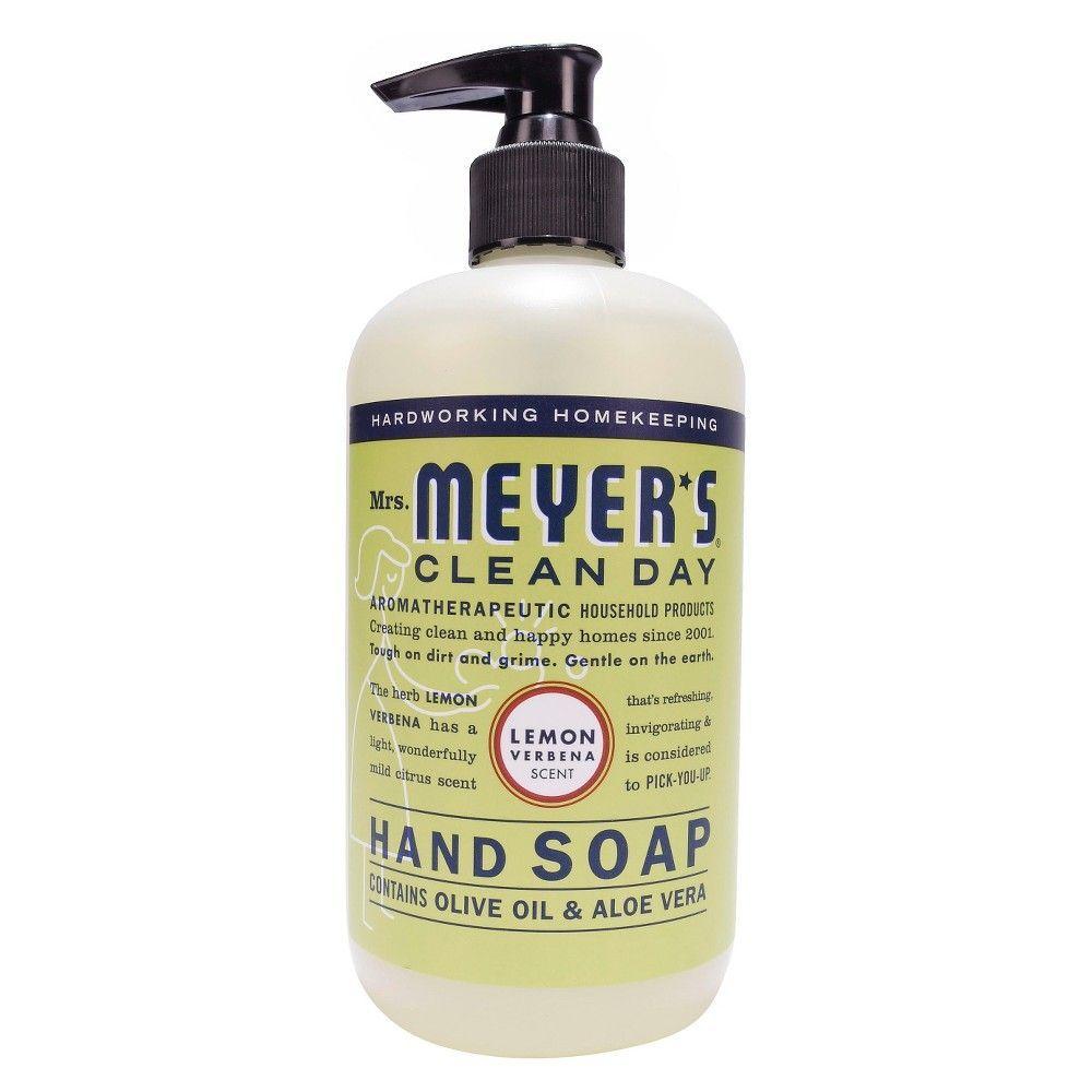 Mrs. Meyer's Hand Soap Lemon Verbena 12.5 oz in 2019
