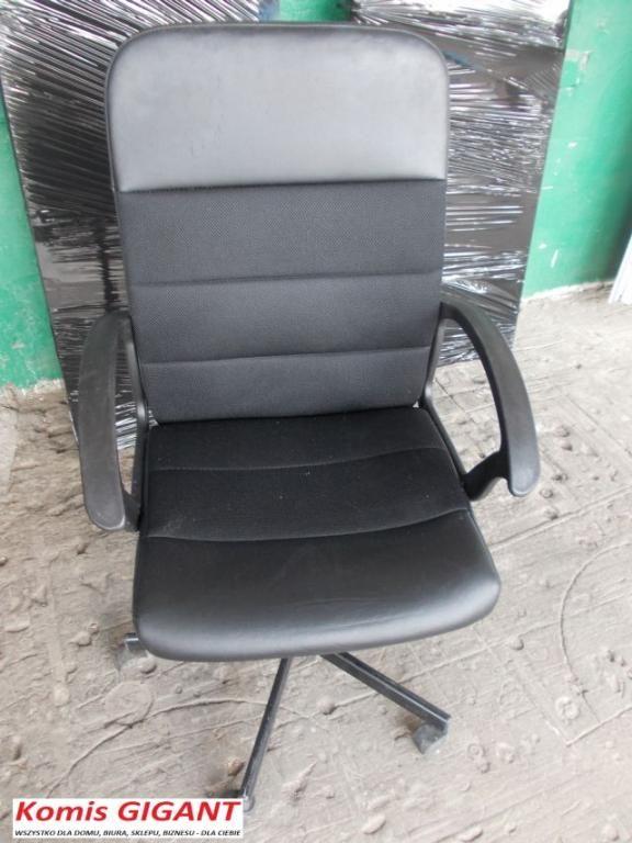 Komis Gigant Krzeslo Obrotowe Czarne Tanio 5337892994 Oficjalne Archiwum Allegro Office Chair Chair Furniture