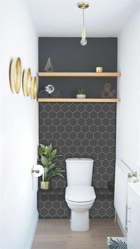 Update Your Kitchen Or Bathroom Splash Back Without Damaging The Surface The Perfect Solution For Bathroom Splashback Modern Bathroom Decor Small Toilet Room