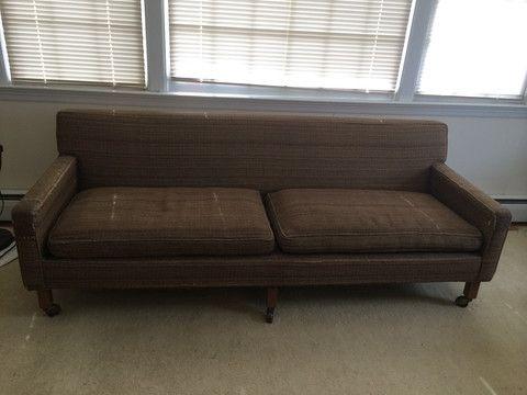 Mid Century MAD MEN Sofa