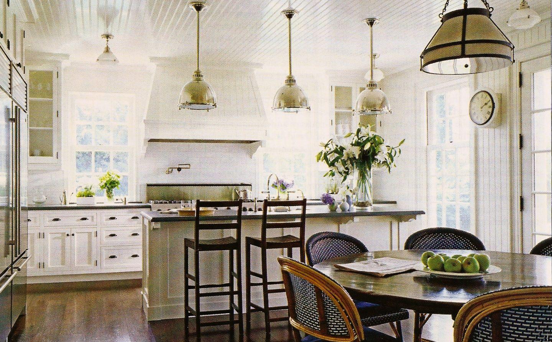 Wood floors & white cabinets