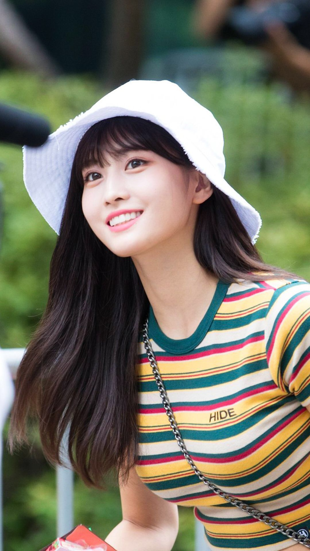 Momo Hirai (born Nov. 9, 1996 in Kyoto, Japan), better known as Momo, is a Japanese singer, dancer and member of the K-Pop group Twice.