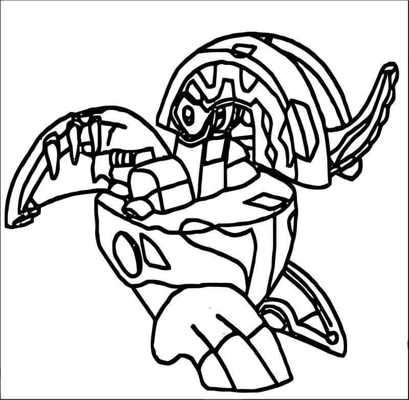 robot bakugan coloring page  coloring pages coloring