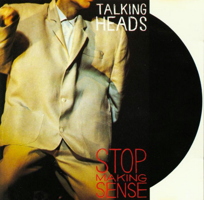 Talking Heads Stop Making Sense Turns 30 Talking Heads Cool Album Covers Album Covers