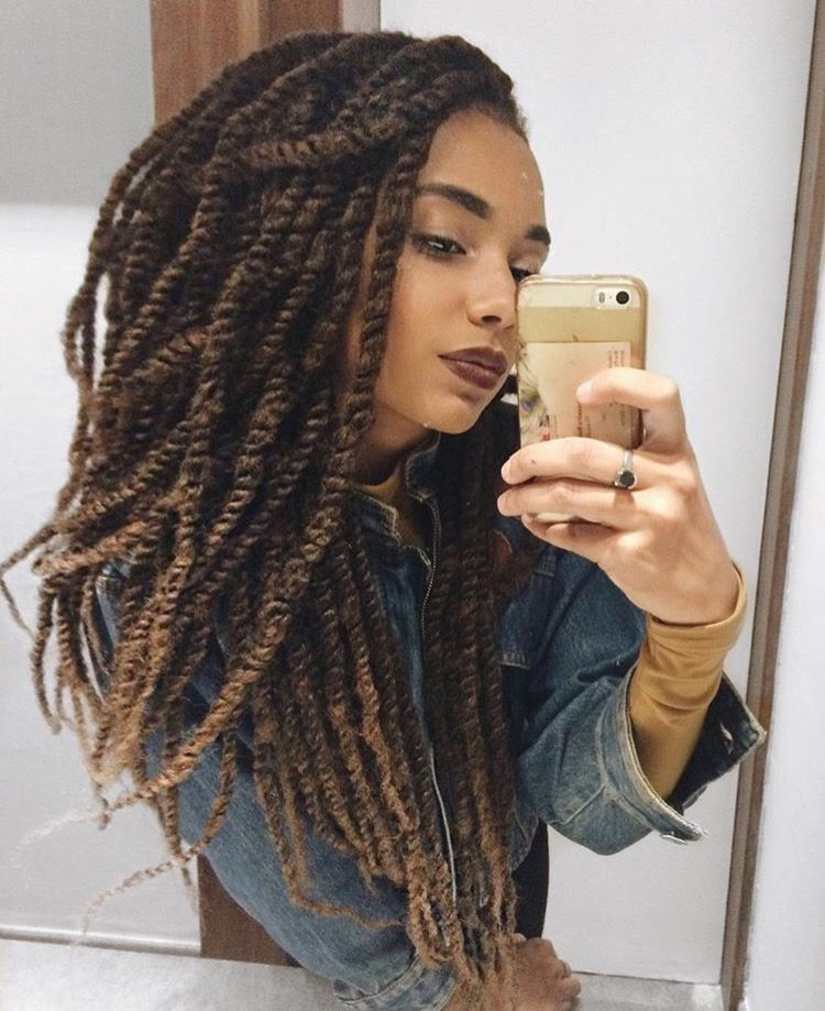 Marley Hair Styles Glamorous Marley Twists …  Hair ♡ …