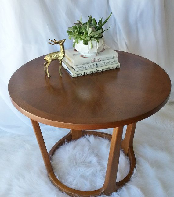 Vintage Lane/Adrian Pearsall Round Side Table By RedoneByShari, $295.00 Part 73