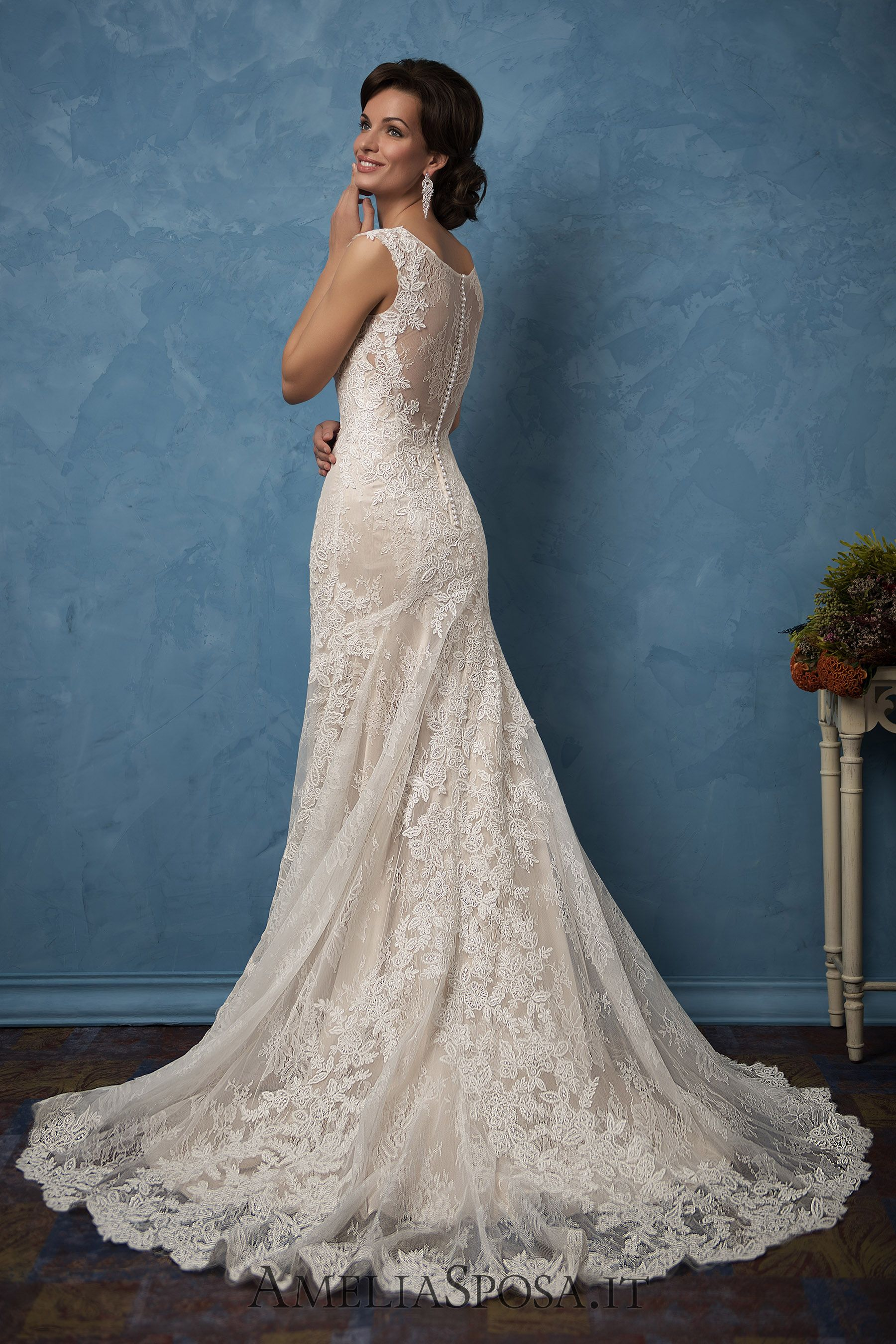 Wedding dress adriana silhouette sheath mermaid bridal styles