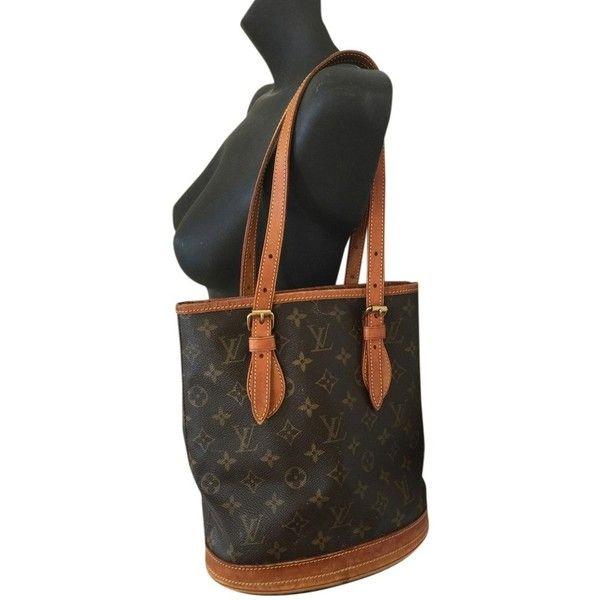 9e502c7652 Pre-owned Louis Vuitton Ar0937 Pm Lv Monogram Logo Bucket Sac Tote ...