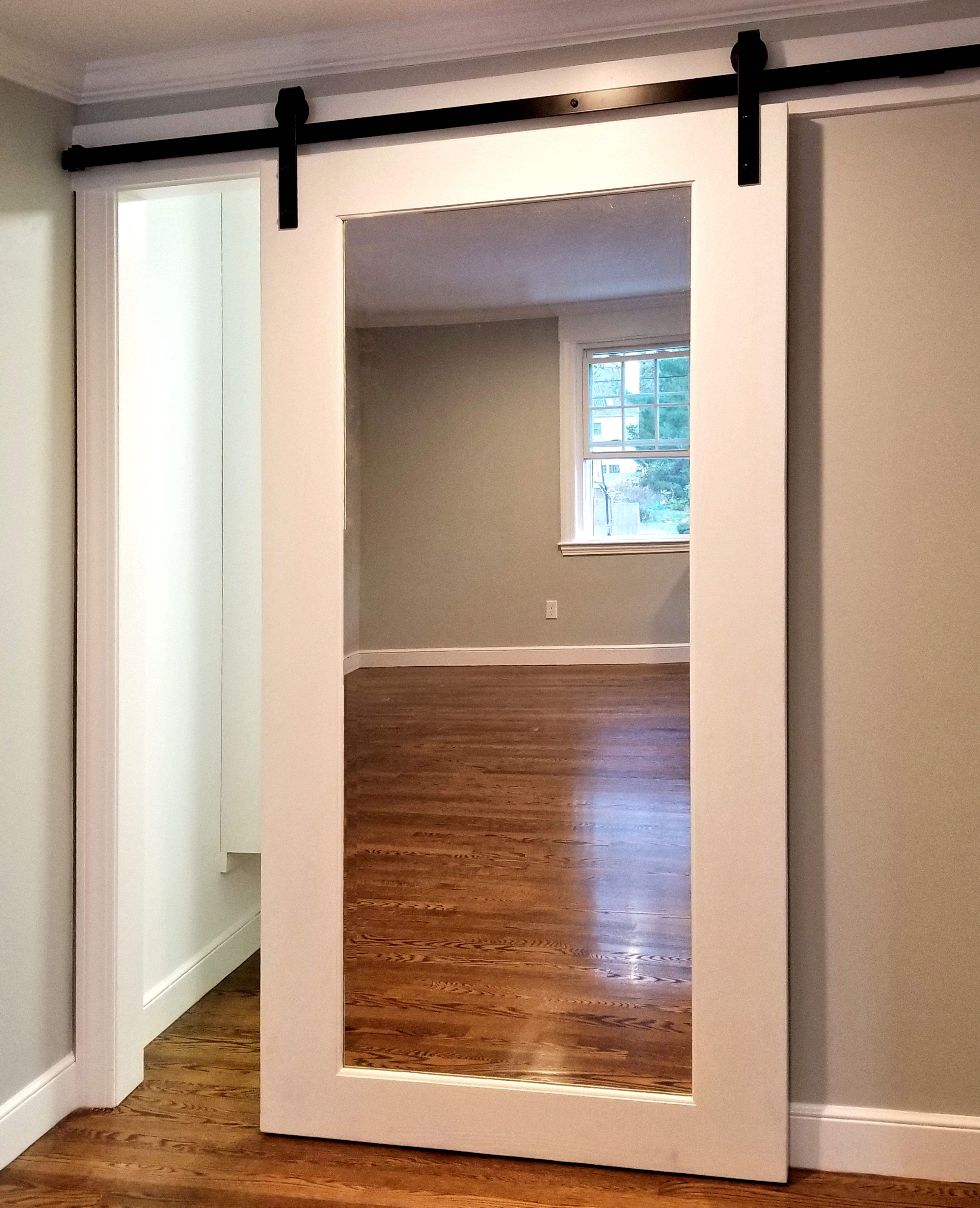 Full Length Mirror Barndoor Great For Master Suite Closets