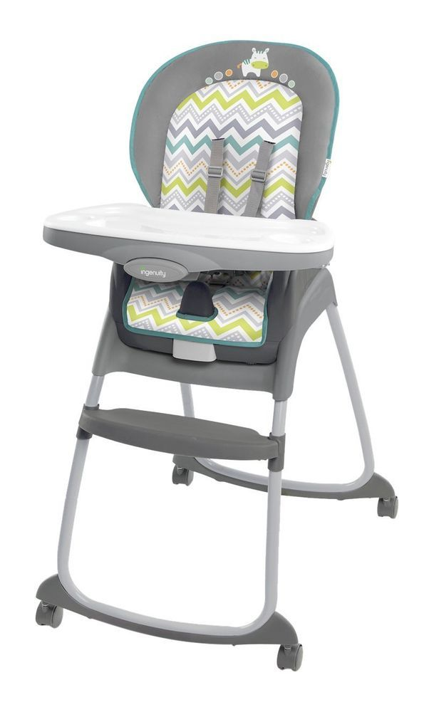 High Ridgedale Chair Ingenuity Trio Grey Baby Seat Booster Safe