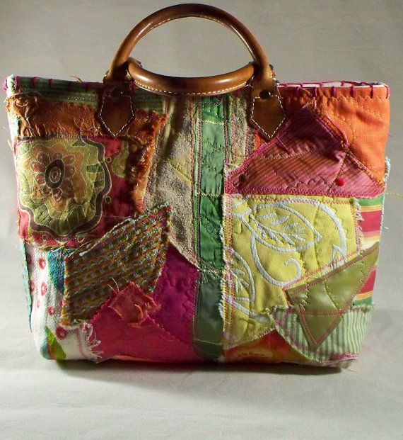 Chic Oneofakind Custom Fabric Collage Perfect for by ilovetwilla