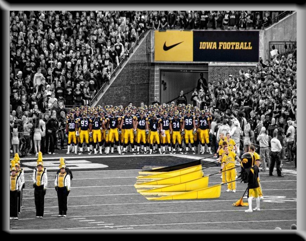 Iowa hawkeye football swarm photography the gazette