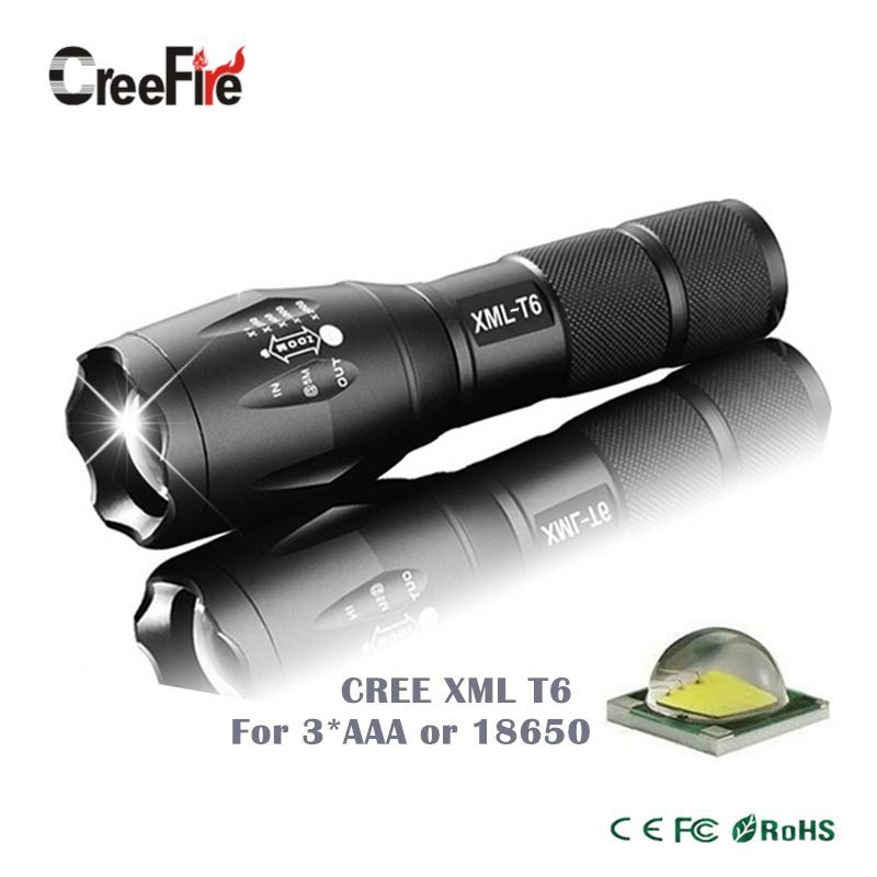 Collection Here Powerful Waterproof Cree Xml-t6 Led Mini Flashlight 5-mode Portable Led Camping Lamp Torch Lights Lanternas Tactical Flashlight Led Lighting