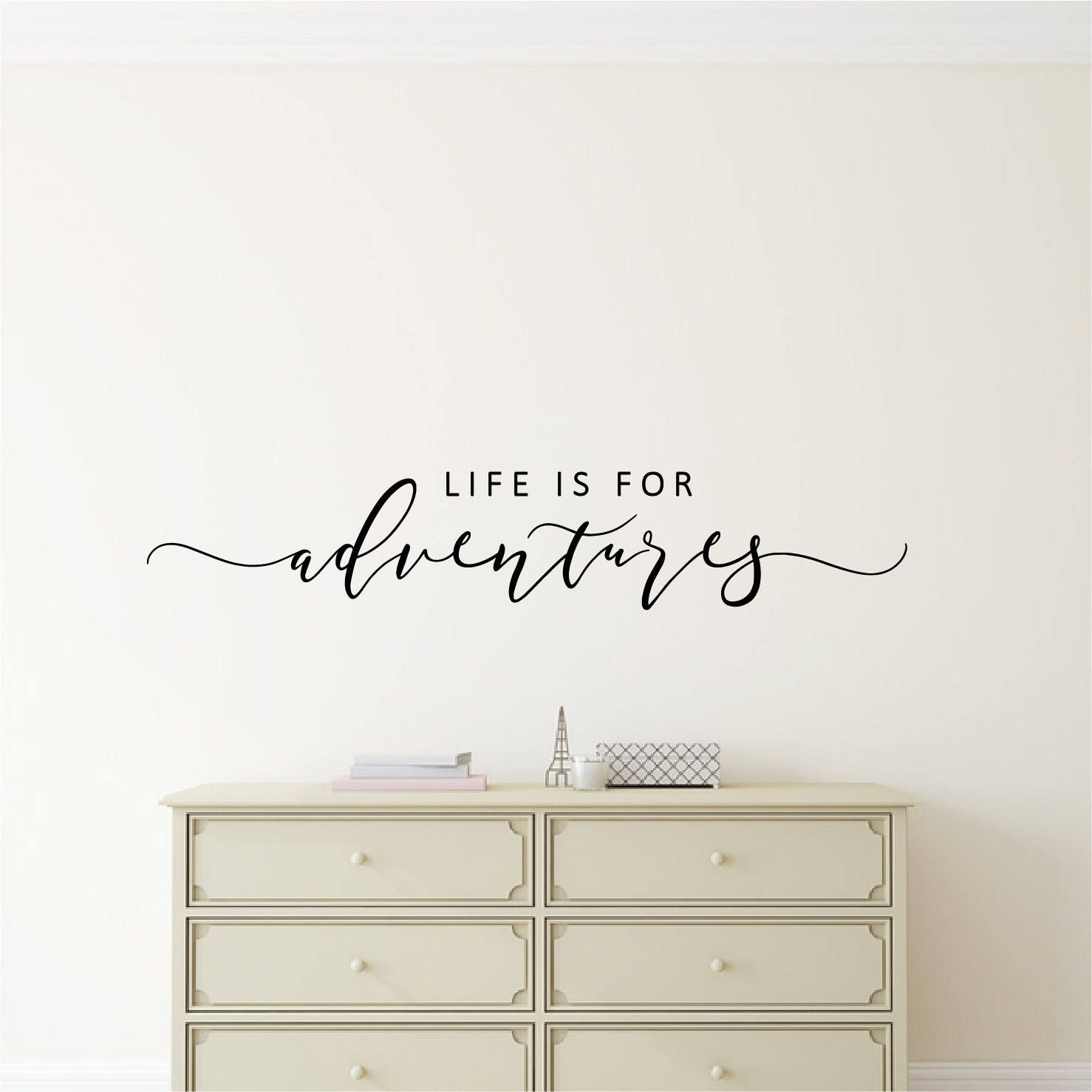 Wall Sticker Life Is For Adventures Wall Decal Quote Inspirational