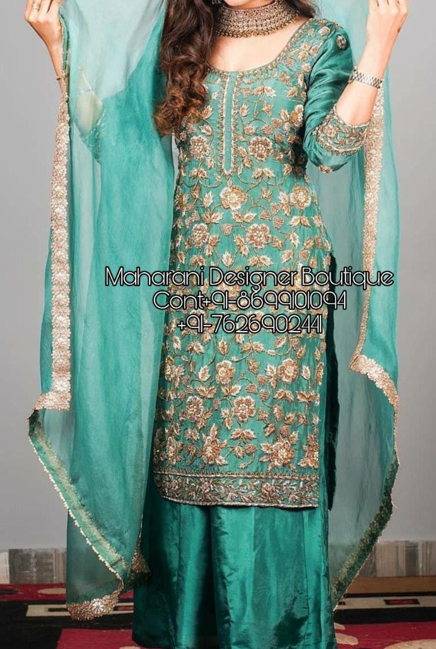 Punjabi Suit New Design Maharani Designer Boutique In 2020 Dress Design Sketches Clothes Design Stylish Dresses