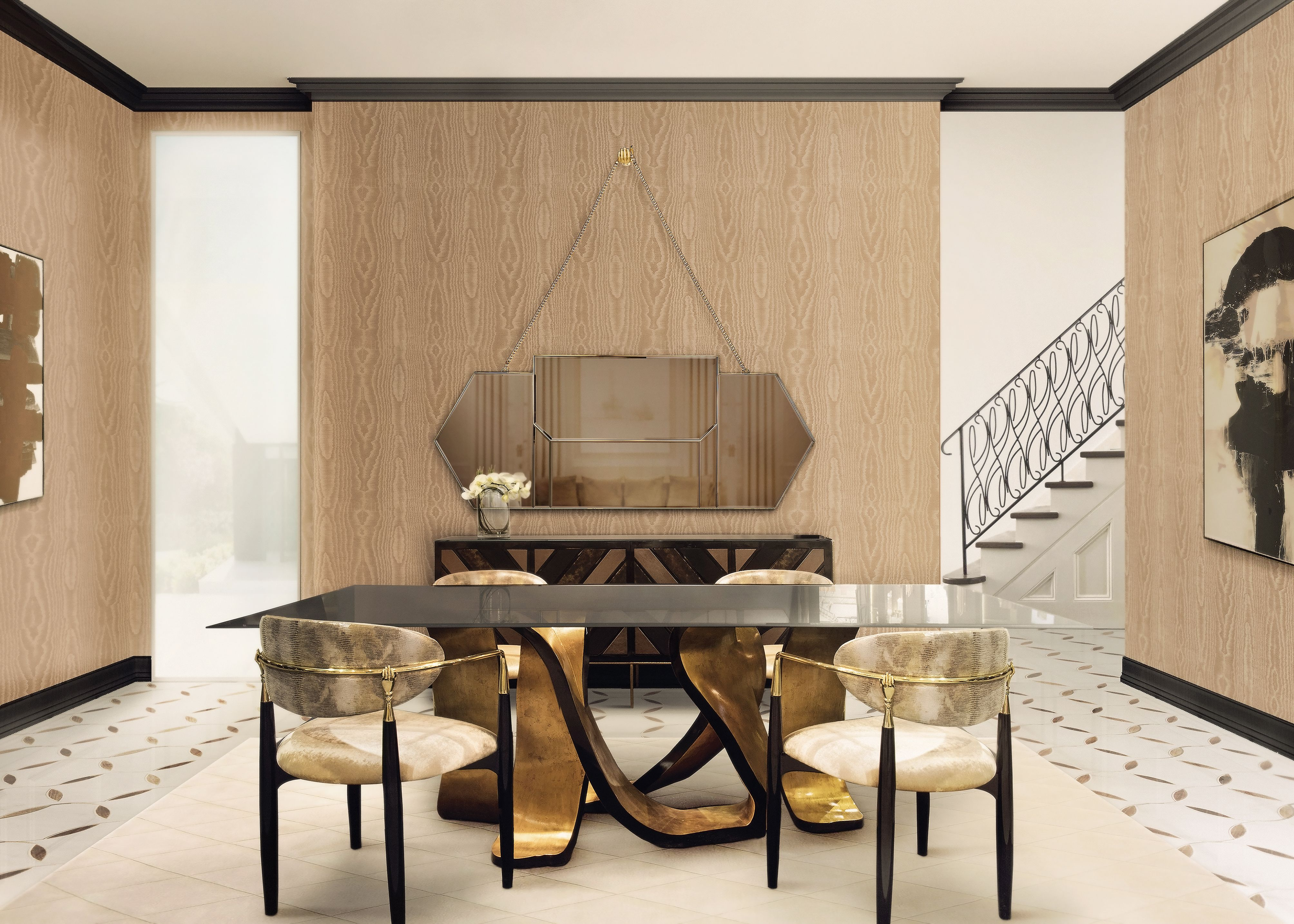 RIBBON Dining Table | Design trends, Luxury dining tables and ...