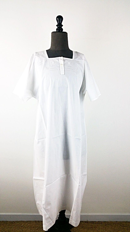 Chemise Art Robe Ancienne DécoDu Longue Textile 8nwP0Ok