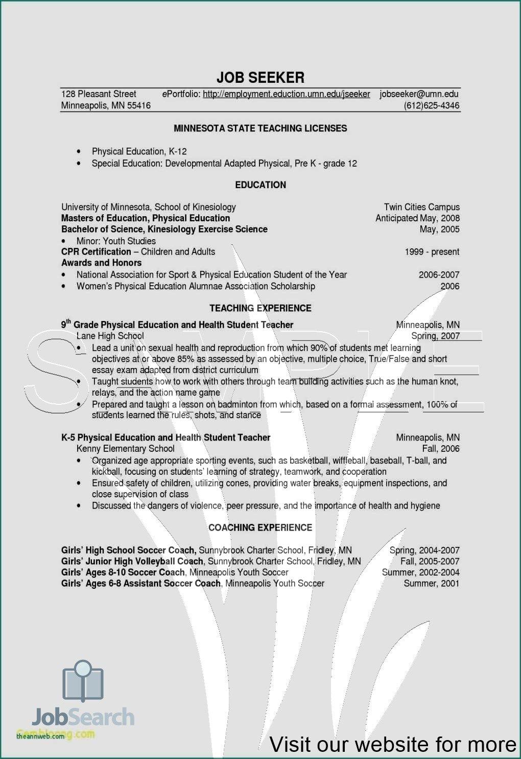 Resume with no job experience Resume Template Writing Job