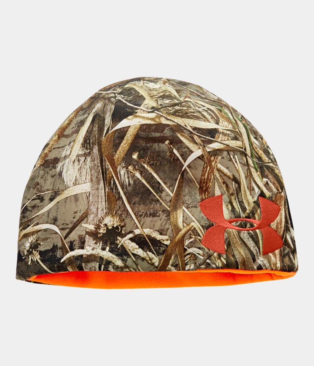 c46683ff7ff ... ireland mens ua reversible camo beanie under armour ca mens hunting  clothes hunting hat 807e0 ca2ee