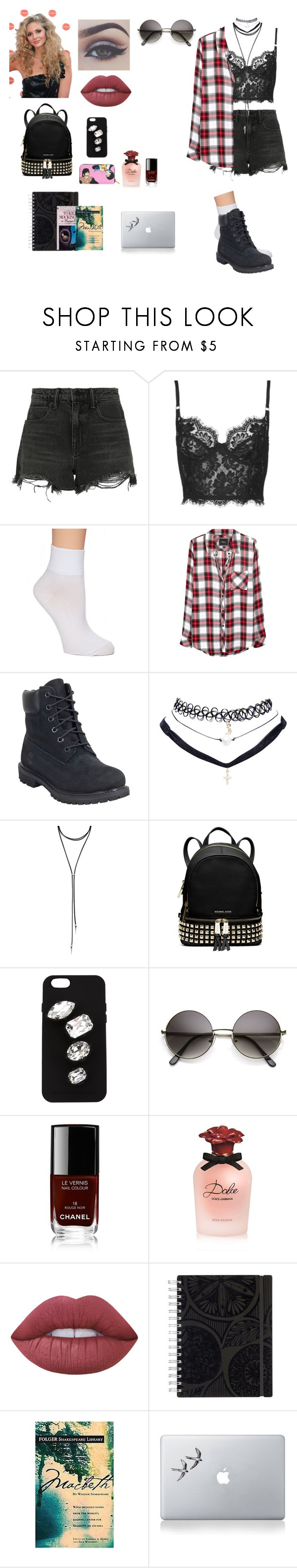 """""""And she's watching him with those eyes"""" by misslillysavage on Polyvore featuring Alexander Wang, Topshop, Hue, Rails, Timberland, Wet Seal, Forever 21, MICHAEL Michael Kors, Bellezza and STELLA McCARTNEY"""