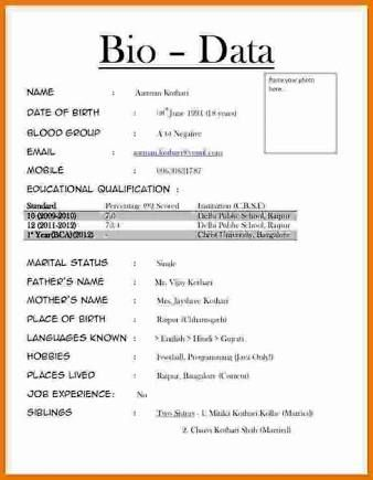 Sample Resume Writing Format Jobs Cover Letter Brilliant Resumes