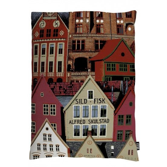 Bergen, Pillowcase, Vallila, Finnish design, February 2016
