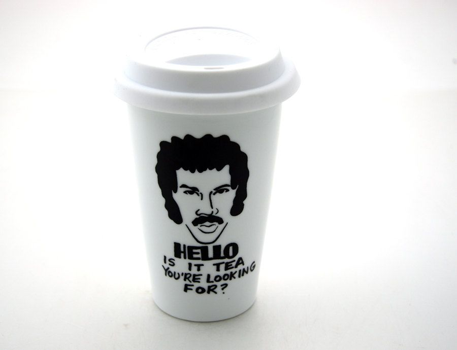 """Lionel Richie """"Hello is it tea you're looking for?"""" by LennyMud, via Etsy.  Love love!"""
