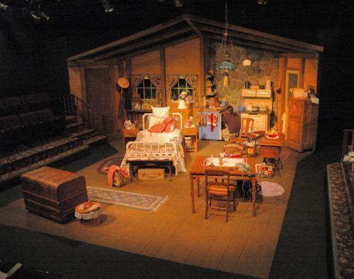theatre set design ideas thrust stage - Google Search   Norma\'s Rest ...