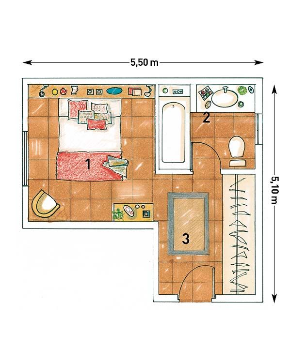 Planos de cuartos de ba o peque os mas dormitorio buscar for Plano de pieza cocina y bano
