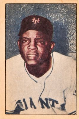 1952 Berk Ross Baseball Willie Mays Abc Higher Quality Baseball