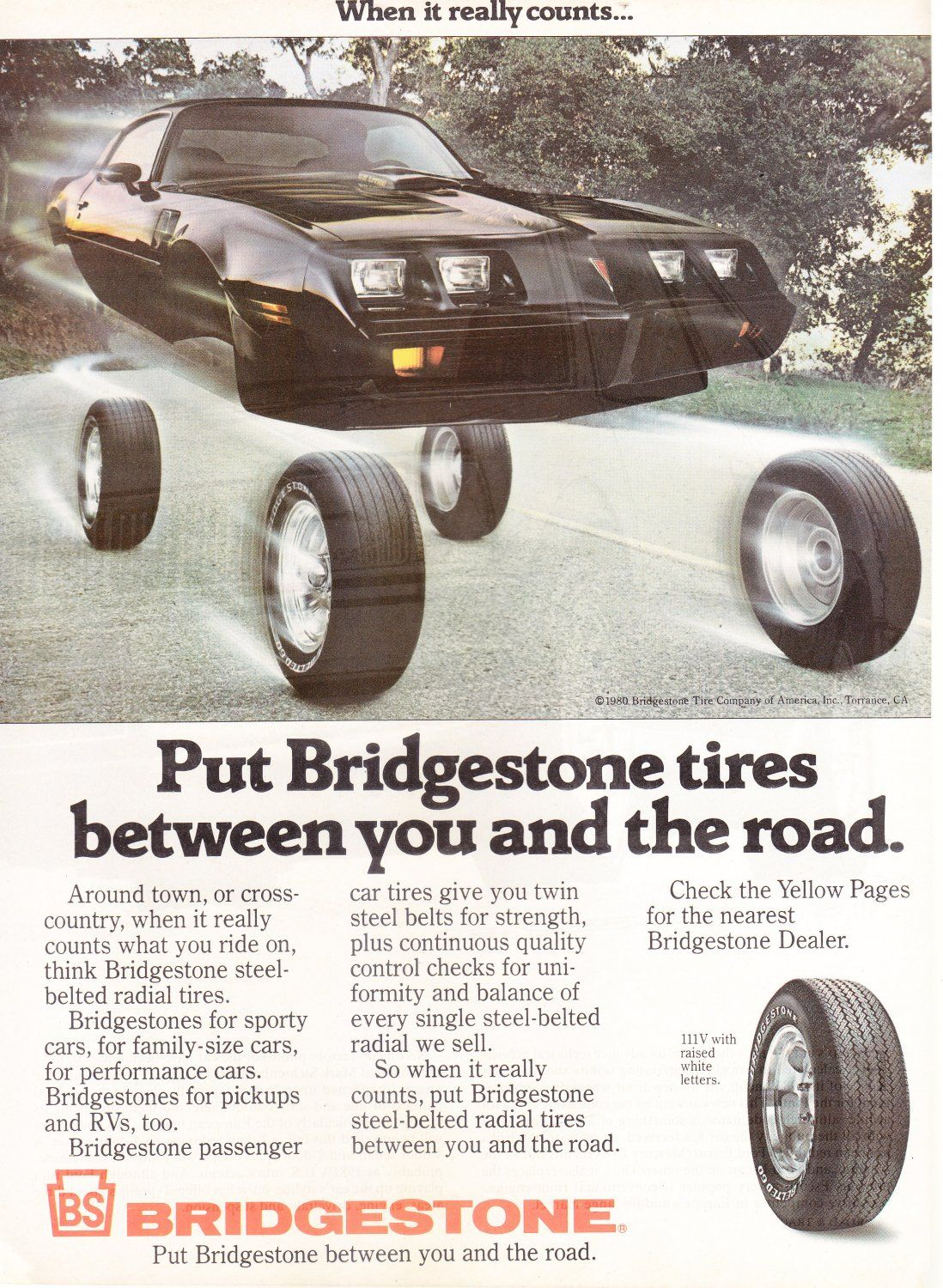 Vintage+Bridgestone+Magazine+Advertisement | vintage advertising ...