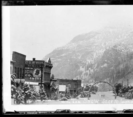 Ouray CO, July 3 1897 Snow Storm