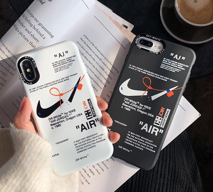 Michael Jordan 23 Flyman Off White Nike Case For Apple ...
