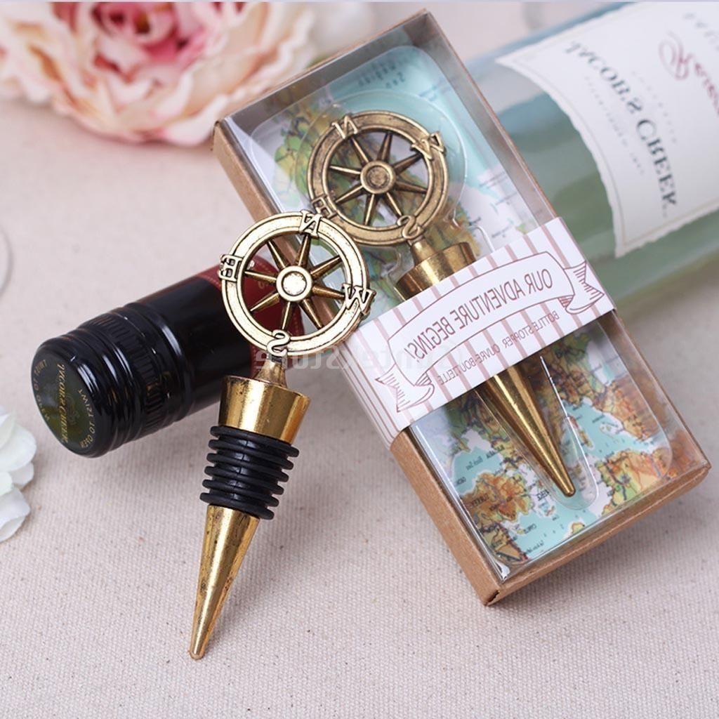 Diamond Ring Wine Stopper Wedding Favors