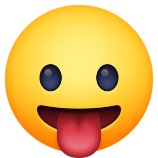 Face With Tongue Emoji On Facebook 4 0 In 2020 Tongue Emoji All Emoji Emoji