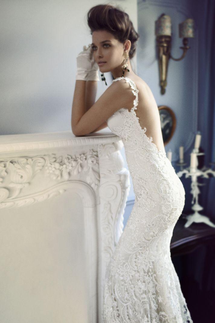 Back Of Lace Dress