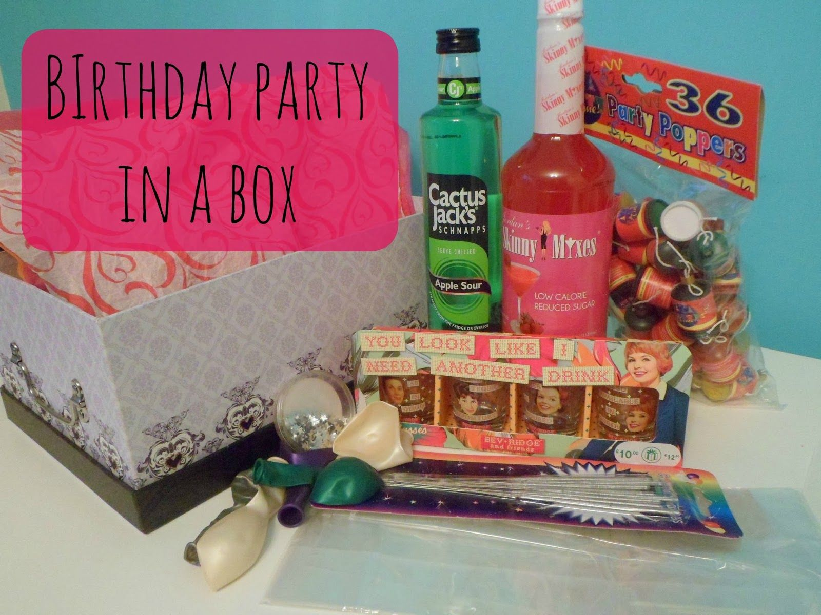 Beauty by a geek diy birthday party in a box gift idea gift ideas beauty by a geek diy birthday party in a box gift idea solutioingenieria Image collections