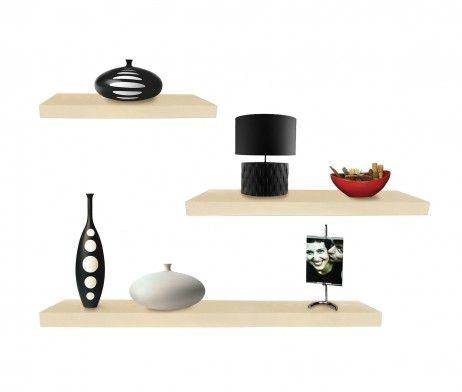 Repisas minimalistas fabricadas en madera de la m s alta for Home disena y decora tu hogar