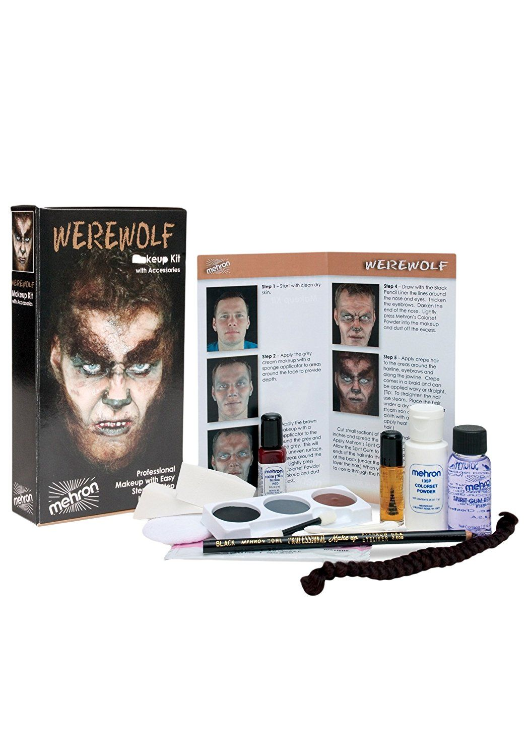Mehron Premium Werewolf Character Kit * Quickly view this