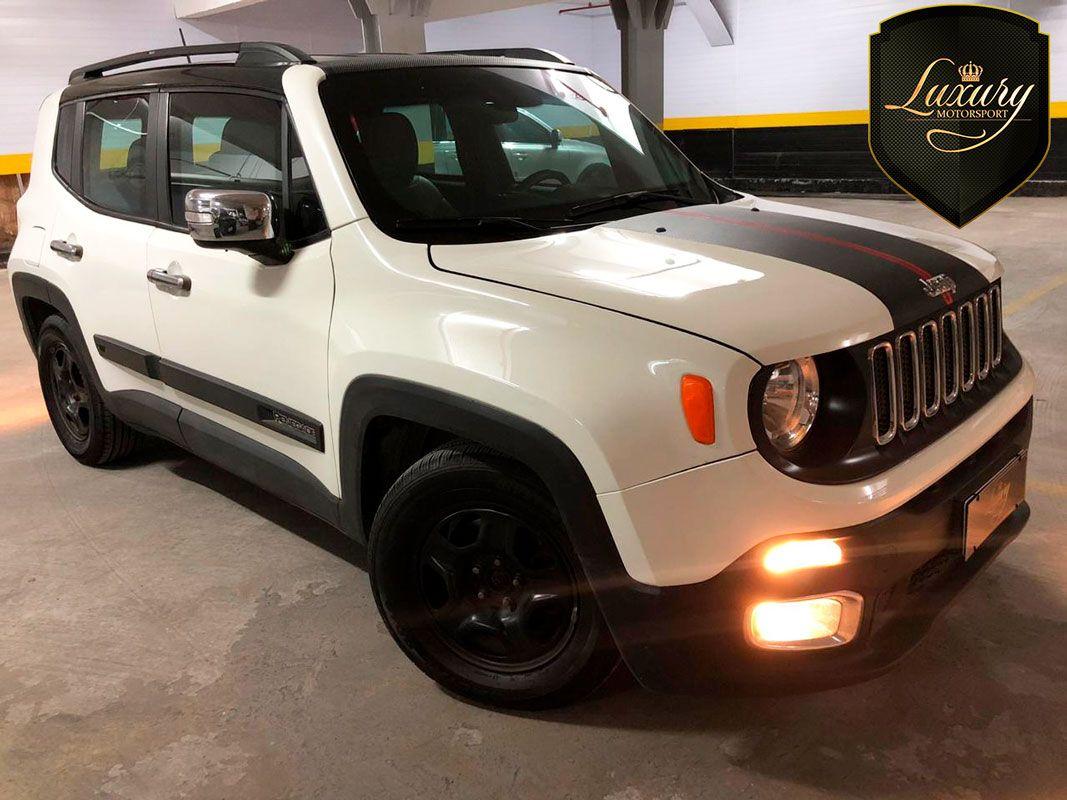 Jeep Renegade Sport Blindado Branco Com Interno Em Couro Bi Color Veiculo Impecavel E De Estrutura Integra Utilitario Espor Jeep Renegade Jeep Cores Exteriores
