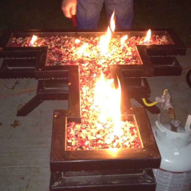 Tech Fire Pit-Jenn J. Would LOVE This