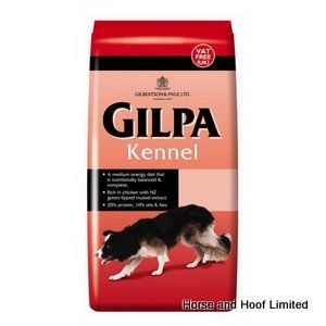 Gilpa Kennel Dog Food 15kg Gilpa Kennel Dog Food Can Be Fed Dry Or