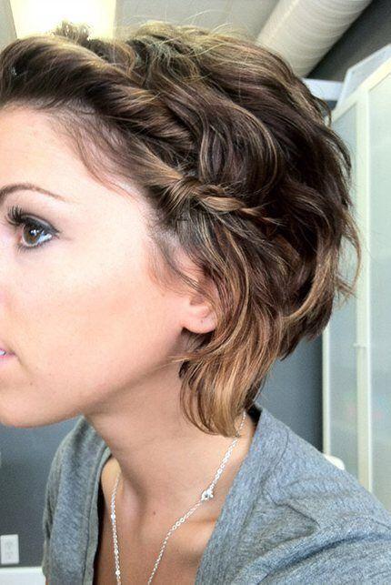 Peinados Faciles Para Pelo Corto Pelo Pinterest Peinado Facil