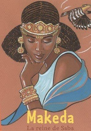 Makeda is best known as the beautiful, wealthy, and intellectual queen who tested Solomon with riddles, is a somewhat mysterious figure in ancient texts, and little has been verified about her life. Even basic details such as her given name and the exact location of her kingdom remain uncertain. Nevertheless, she has fascinated and inspired African American, Ethiopian, Islamic, and Jewish cultures for nearly three thousand years
