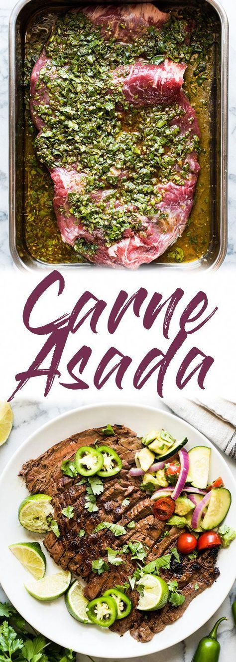 Carne Asada Recipe {Juicy and Flavorful!} - Isabel Eats