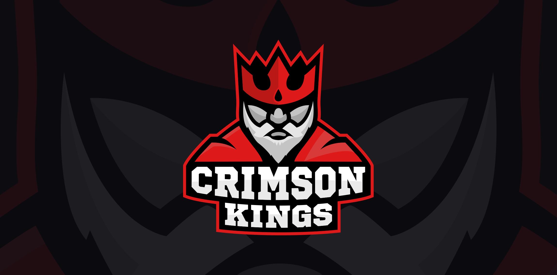 Crimson Kings Esports Logo Logo Inspiration Logo Design Inspiration